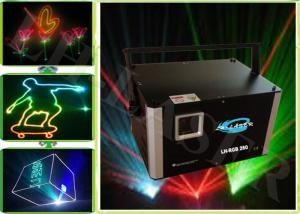 China ILDA 4W Full Color Animation &  Beam Programable Laser Show Sky Laser Lighting Projector on sale