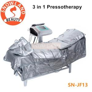 China 3 in 1 far infrared+ems therapy +lymphatic drainage vacuum pressotherapy body slimming on sale