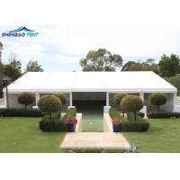 White Fire Retardant PVC Garden Gazebo Marquee Double PVC Cover