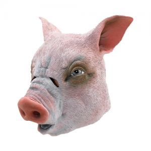 Youtumall Realistic Latex Pig Head Mask Costume Cosplay  sc 1 st  youtumall - Everychina : pig head costume  - Germanpascual.Com
