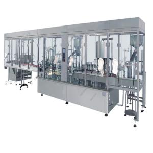 China High Speed Small Perfume Filling Machine For Glass Bottle , Spray Filling Machine on sale