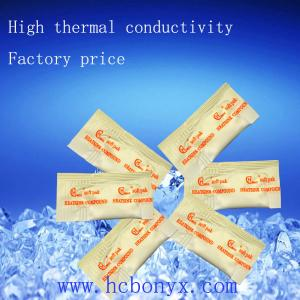 China Conductive silicone thermal grease for high power electrial components 0.5g on sale