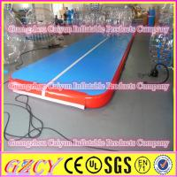 Indoor Gymnastics Equipment Inflatable Sports Tumble Track