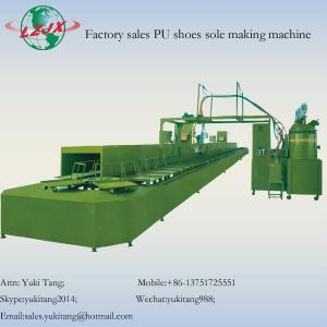 China Factory sales PU shoes sole making machine on sale