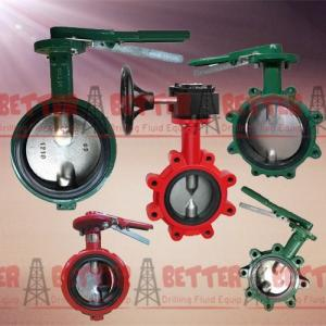 China BETTER Long Neck Butterfly Valves MUDKING DEMCO NE-C Type Butterfly Valve Ductile Iron Cast Iron Body NBR Seat on sale
