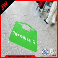 China ACustom Printing Floor Advertising Sticker Eco vinyl floor tile digital printing sticker on sale