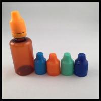China Vapor Juice Plastic Dropper Empty Bottles 30ml PET Dropper Bottles on sale