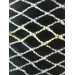 PE ヤーンおよびペット複数のフィラメント ヤーンが付いている正方形の網の Knotless 漁網