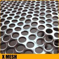 China Perforated Metal Mesh Hole Size1.5mm Thickness 2mm (SGS Certification) on sale