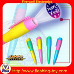 China Le stylo de clignotant de logo, stylo de projecteur, a mené le fabricant de stylo de projecteur de logo on sale