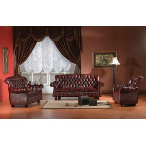 China Europe style chesterfield sofa set antique sofa set on sale