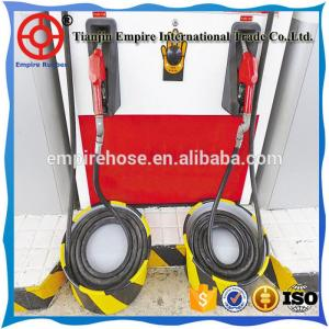 China three layers gas station pvc hose super quality fuel dispensing hose on sale