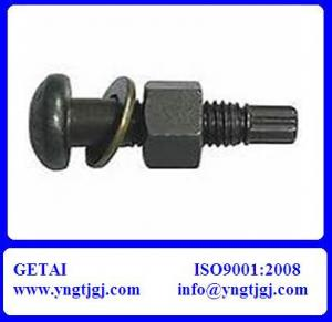 China Steel Structural High Tensile Bolt with Nut and Washer on sale