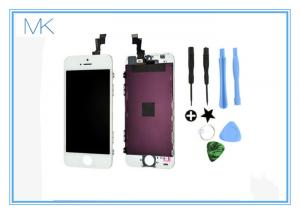 China Perfect fit iphone 5s screen repairs Super AMOLED HD Screen material white color on sale