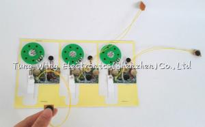China 10 seconds Recordable Sound Module For Birthday , Custom Voice Greeting Cards on sale