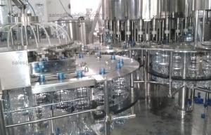China Embotelladora completamente automática del agua mineral/velocidad de relleno de la planta on sale