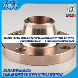 China reborde-EEMUA sólido 145 del cuello de la soldadura del reborde de cobre del níquel UNS C70600 CUNI 9010 on sale