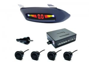 China Micro chip CPU LED Display Parking Sensor with built-in 4-stage audible warning buzzer on sale