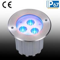 IP67 Tricolor LED Buried Underground Lamp(JP-82636)