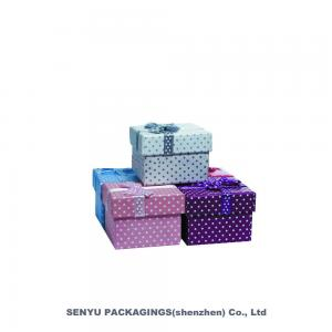 China Wholesale Luxury Custom Design Jewelry Set Packaging Box Jewelry Box With Logo on sale