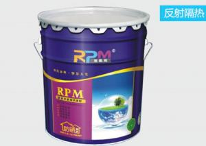 China Roof Tile Thermal Insulation Heat Reflective Paint Roof Cooling For Building Roof Coating on sale