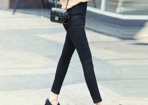 China Chic Stretch Denim Jeans For Women Skinny Type Oem Acceptable Eco - Friendly on sale