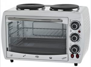 China toaster oven electric oven 18Liters with 4 Stainless Steel Heating Elements supplier