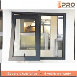 China Space Saving Aluminium Awning Windows With Heat Strengthened Glass on sale