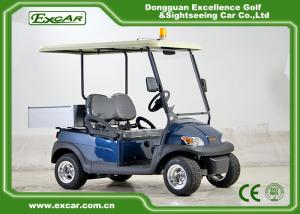 China EXCAR 48V Electric Golf Cart Utility Vehicles Italy Graziano Axle on sale