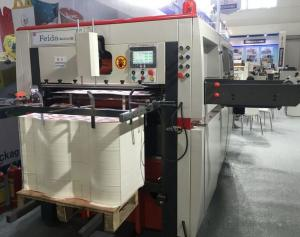 Quality Reel Paper Flatbed Die Cutting Machine Low Noise For Paper Bag Packaging for sale