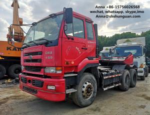 China Japan Made Used Tractor Head UD CWB459 25 - 40 Ton Loading Capacity on sale
