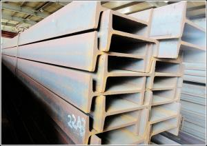 China Hot Rolling ASTM A572 GR 50 Carbon Steel I Beams , Building Steel Beams supplier