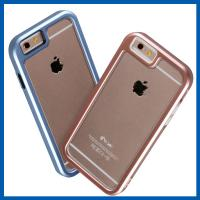 Light Weight Premium Hybrid Bumper Mobile Phone Shells For Iphone 6 Plus