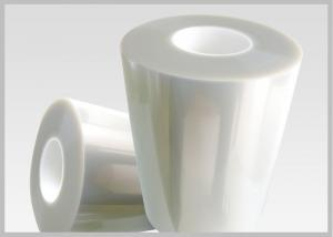 China Película clara de la etiqueta de las mangas del encogimiento de PETG 40 micrones de reciclable para la botella de vino on sale