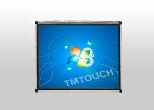 China Waterproof Dustproof 17inch IR Touch Screen Open Frame Display on sale