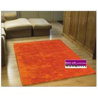 Home textile/Area rug/Flexible yarn shaggy carpet/living doormat/orange