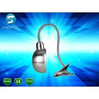 LED Desk Lamp Good Heat Sink Flexible Clip LED Light Table Lamp with 1.5m Length Cable