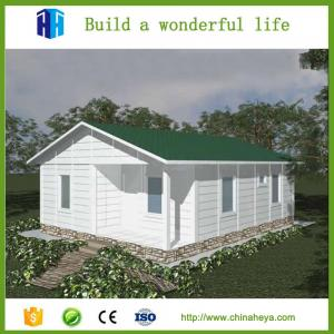 China Heya 3d model prefab house steel structure 2 bedroom house plans on sale