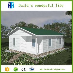 China light steel frame house household filter housings prefab house on sale