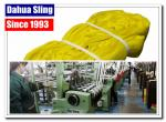 Yellow Synthetic Fibre Endless Round Slings Flat Straps 3000kg En1492-2