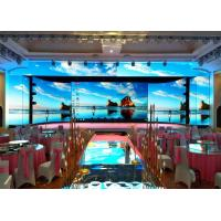 Smd Advertising  P3 Led Display Screen , Large Stage Screen Background