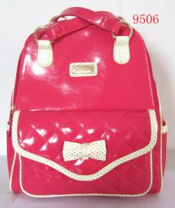 China Fashion cheap newest lady backpack 2 COLORS combination backpack on sale