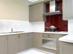 Quality Wood Mdf Kitchen Cabinets Custom Furniture With Modern Simple Design for sale
