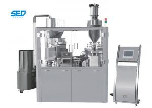 China Pharmaceutical Industry Automatic Capsule Machine High Efficiency GMP Standard on sale