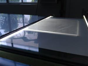 China acrylic light box making machine on sale