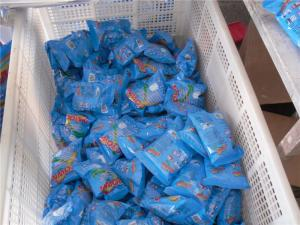 China blue color top quality laundry powder/30g detergent powder/50g washing powder use for hand on sale