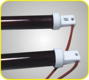 China Furniture Heat Baking Microcomputer Touch Infrared Curing Lamp With Shortwave Tubes on sale