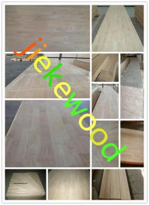 China rubberwood finger-jointed  panels on sale