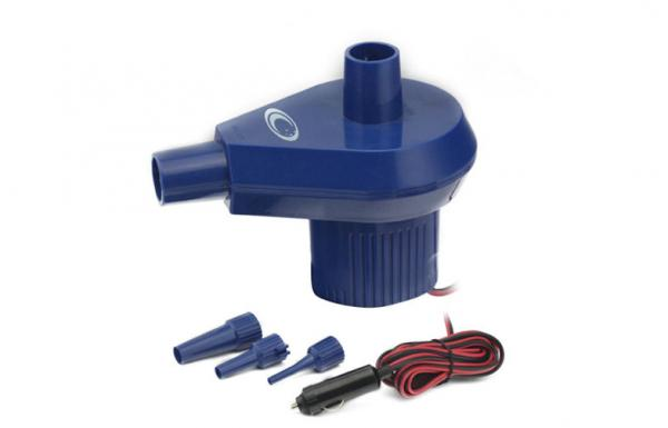 Dc 12v Electric Air Mattress Pump 50w Raft Inflator 17500rpm For