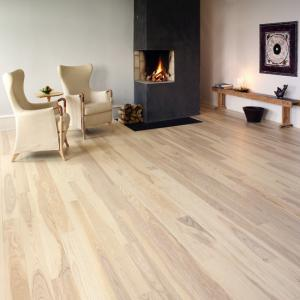 China Finished Solid American Ash Wood flooring on sale